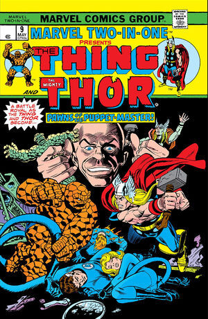 Marvel Two-In-One Vol 1 9