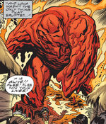 Molten Man-Thing (Earth-616) from Marvel Universe Vol 1 4 0001