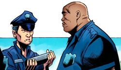 New York City Police Department (Earth-TRN207) from Amazing Spider-Man Annual Vol 1 39 001