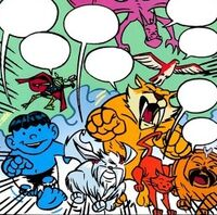 Pet Avengers (Earth-99062) from Lockjaw and the Pet Avengers Unleashed Vol 1 1 001
