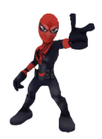 Peter Parker (Earth-11429) from Marvel Super Hero Squad Online 001