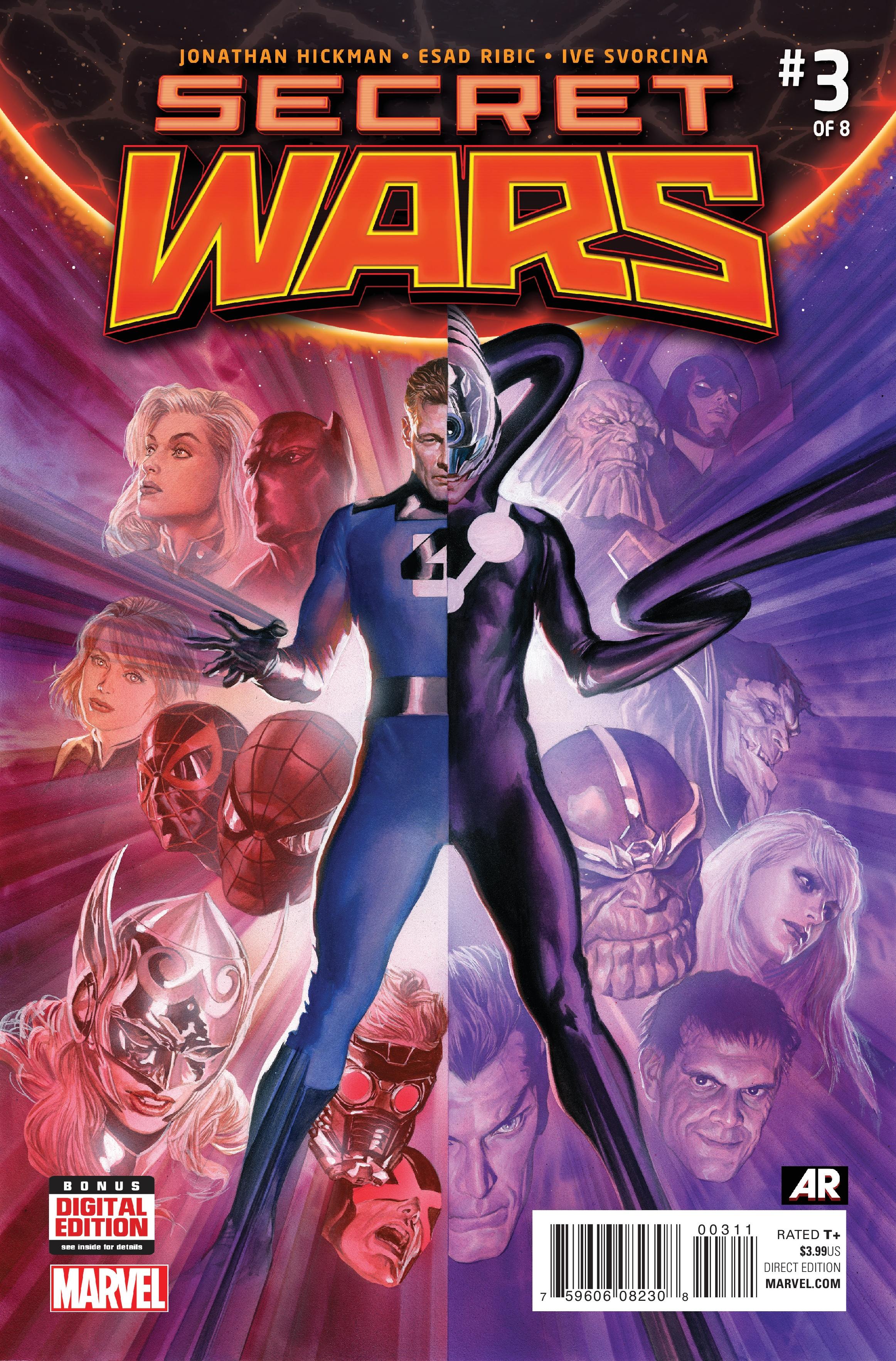 MARVEL COMICS THORS #1 SECRET WARS