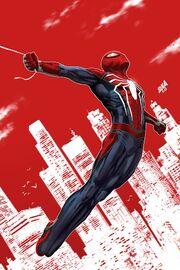 Spider-Geddon Vol 1 1 PS4 Spider-Man Variant Textless