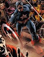 Steven Rogers (Earth-2149) from Marvel Zombies Dead Days Vol 1 1 001