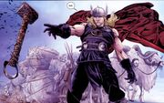 Thor Odinson (Earth-616) during the Third Ragnarok Cycle from Thor Ages of Thunder Vol 1 1