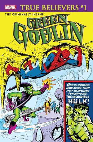 True Believers The Criminally Insane - Green Goblin Vol 1 1