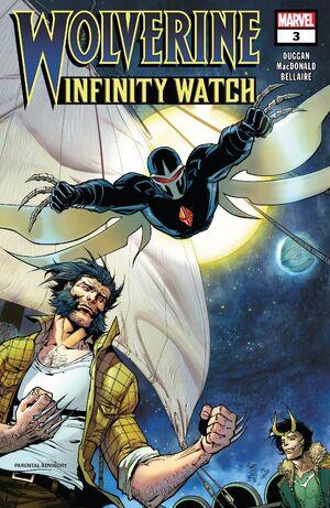 Wolverine Infinity Watch Vol 1 3