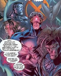 X-Men (Earth-7642) from Badrock Wolverine Vol 1 1 001