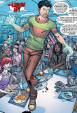 Xavier Institute student body from New X-Men Vol 2 5 0001