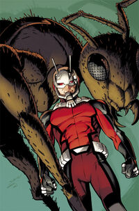 Astonishing Ant-Man Vol 1 10 Mighty Men of Marvel Cancelled Variant Textless