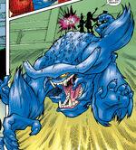 Beast (Azure) (Earth-2301) from Marvel Mangaverse X-Men Vol 1 1 0001
