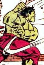 Bruce Banner (Earth-7940) from Marvel Two-In-One Vol 1 100 001