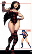 Davida DeVito (Earth-616) from Official Handbook of the Marvel Universe A-Z Update Vol 1 3 0001