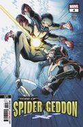 Edge of Spider-Geddon Vol 1 4 Second Printing Variant