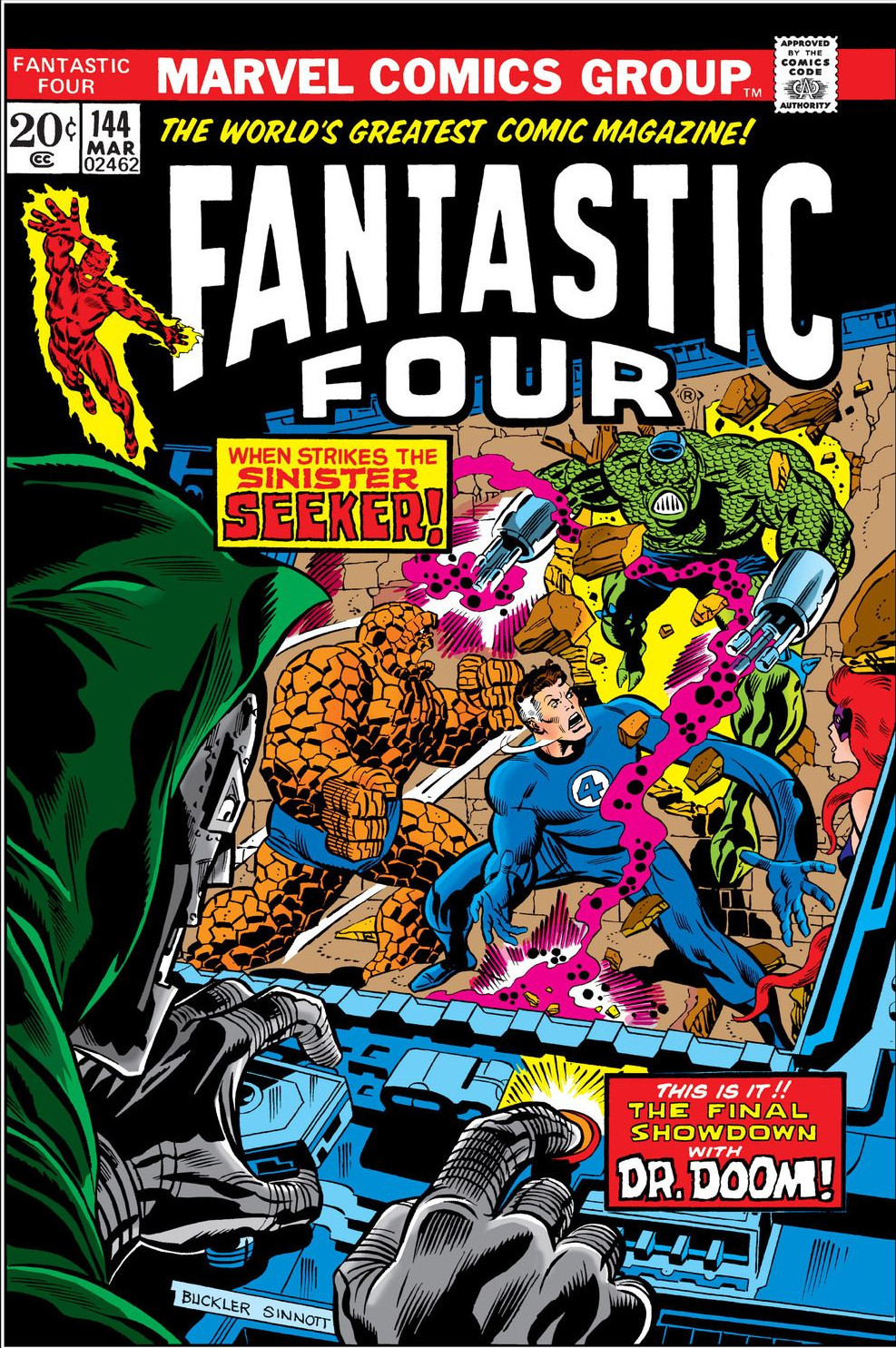 Fantastic Four Vol 1 144 | Marvel Database | FANDOM powered