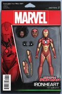 Invincible Iron Man Vol 4 1 Action Figure Variant