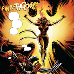Jean Grey (Earth-2149) Phoenix Force (Earth-2149) and Peter Parker (Earth-2149) from Marvel Zombies 2 Vol 1 4 001