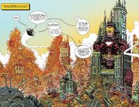 Kuala Lumpur from 100th Anniversary Special - Avengers Vol 1 1 001
