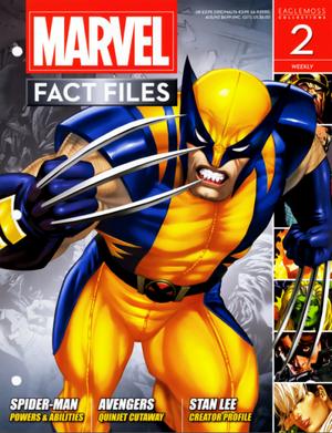 Marvel Fact Files Vol 1 2