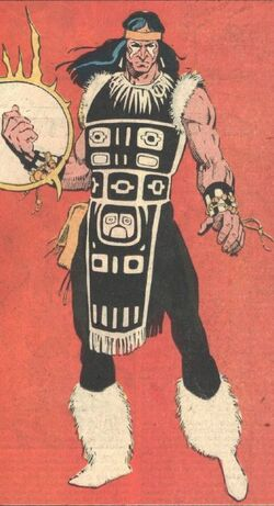 Michael Twoyoungmen (Earth-616) from Official Handbook of the Marvel Universe Vol 2 13 001