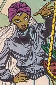 Ororo Munroe (Earth-7642) from Uncanny X-Men and The New Teen Titans Vol 1 1 001
