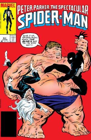 Peter Parker, The Spectacular Spider-Man Vol 1 91