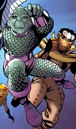 Triton (Earth-8101) from Marvel Apes Vol 1 3 001