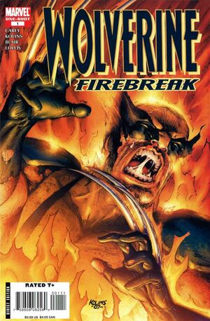Wolverine Firebreak Vol 1 1