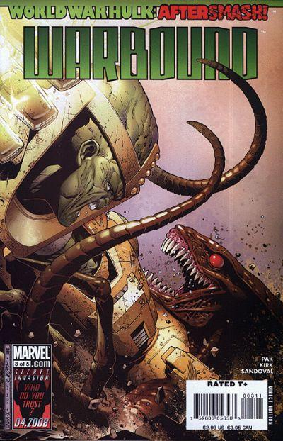 World War Hulk Aftersmash Warbound Vol 1 3