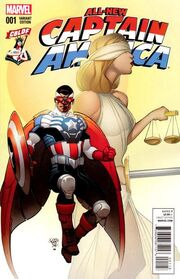 All-New Captain America Vol 1 1 Comic Book Legal Defense Fund Variant