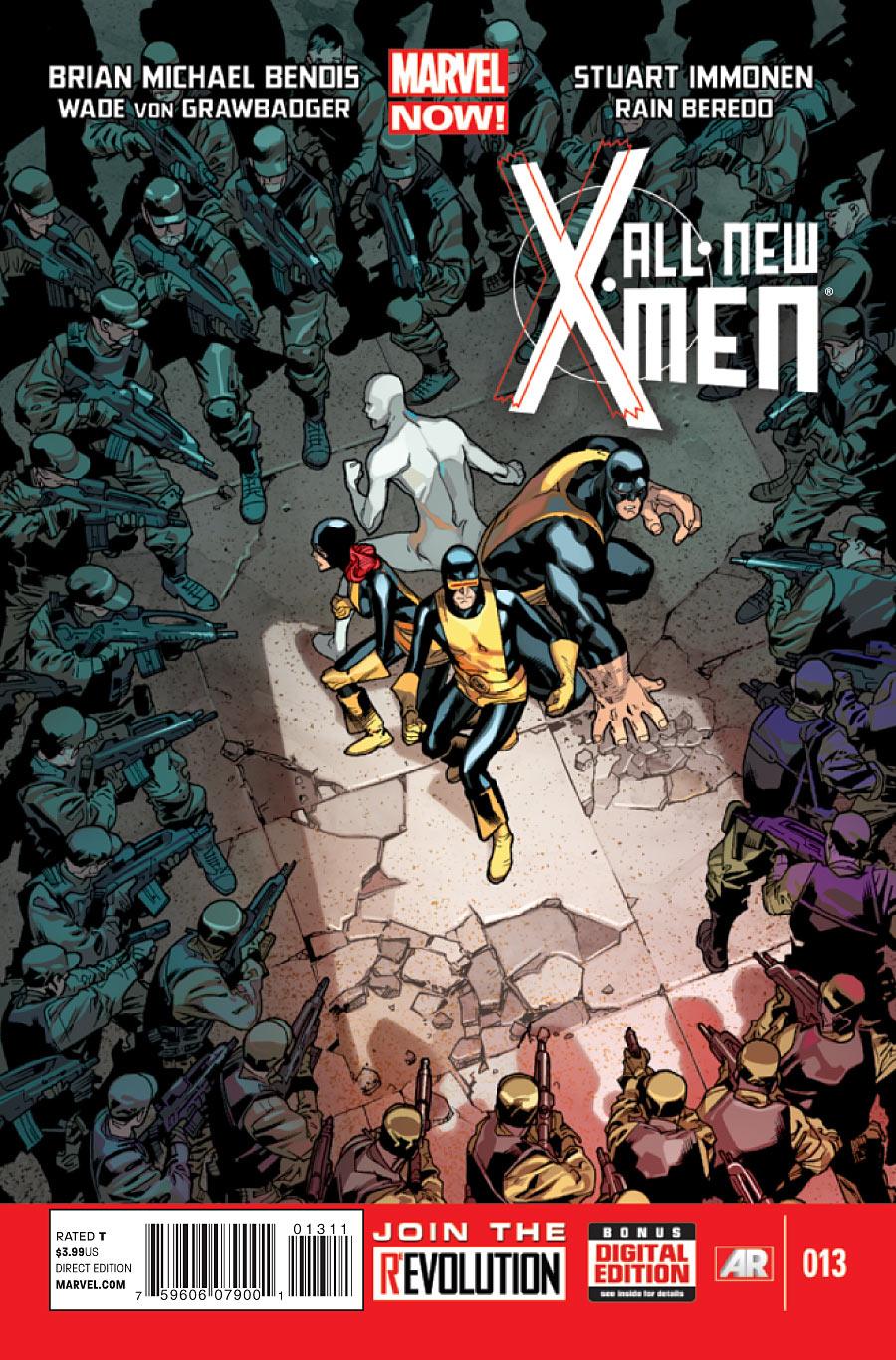 1 #15 2013 Marvel Comics All-New X-Men Vol