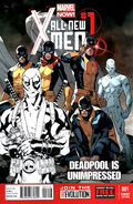 All-New X-Men Vol 1 1 Deadpool Sketch