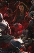 Avengers Age of Ultron concept art poster 002