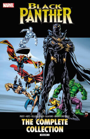 Black Panther by Christopher Priest The Complete Collection TPB Vol 1 2