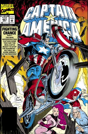 Captain America Vol 1 427