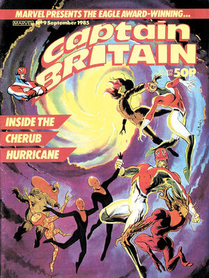 Captain Britain Vol 2 9