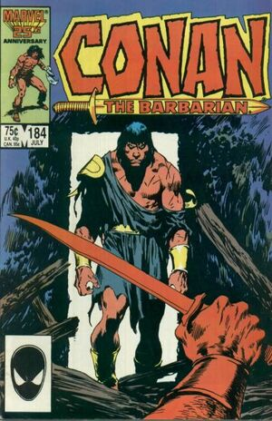 Conan the Barbarian Vol 1 184