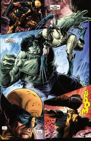 James Howlett (Earth-616), Skaar (Earth-616) and Bruce Banner (Earth-616) from Wolverine Origins Vol 1 41 001
