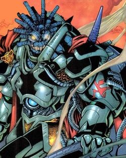 Obliterator (Alien) (Earth-616) from Fantastic Four Vol 3 34 001