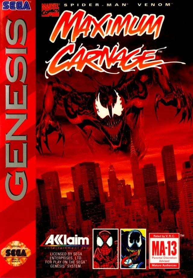 Spider Man Venom Maximum Carnage Marvel Database Fandom