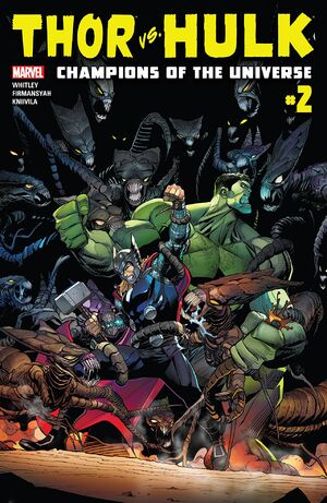Thor vs. Hulk Champions of the Universe Vol 1 2