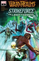 War of the Realms Strikeforce: The Land of Giants Vol 1 1