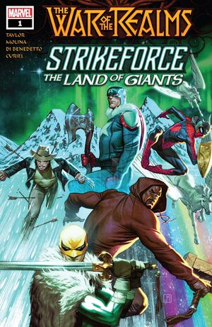 War of the Realms Strikeforce The Land of Giants Vol 1 1