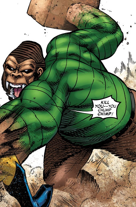 William Baker (Earth-95019) from Marvel Apes Amazing Spider-Monkey Special Vol 1 1 001
