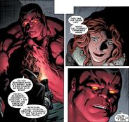 Annie (LMD) (Earth-616) and Thaddeus Ross (Earth-616) from Hulk Vol 2 55 0001