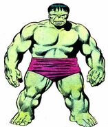 Bruce Banner (Earth-616) from Official Handbook of the Marvel Universe Vol 2 5 0001