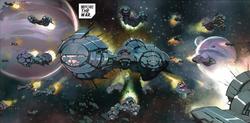Builders' Fleet from Avengers Vol 5 1