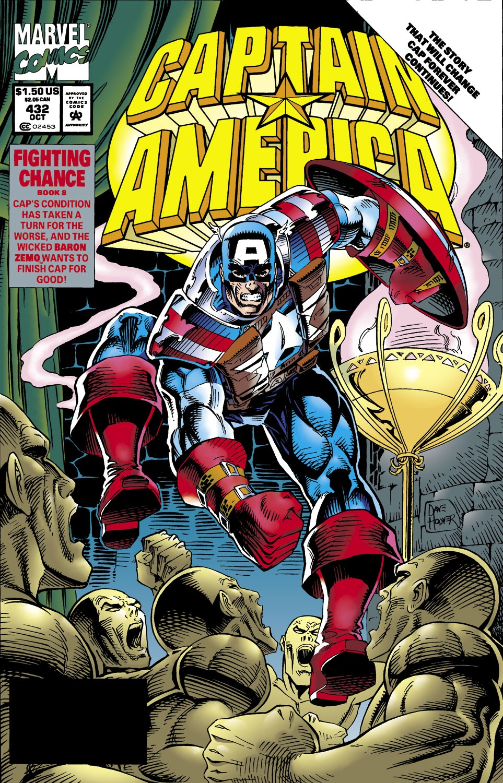Captain America Vol 1 432