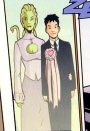 Delphyne Gorgon (Earth-92124) and Amadeus Cho (Earth-92124) from Incredible Hercules Vol 1 124 001