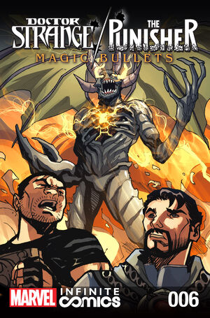 Doctor Strange Punisher Magic Bullets Infinite Comic Vol 1 6
